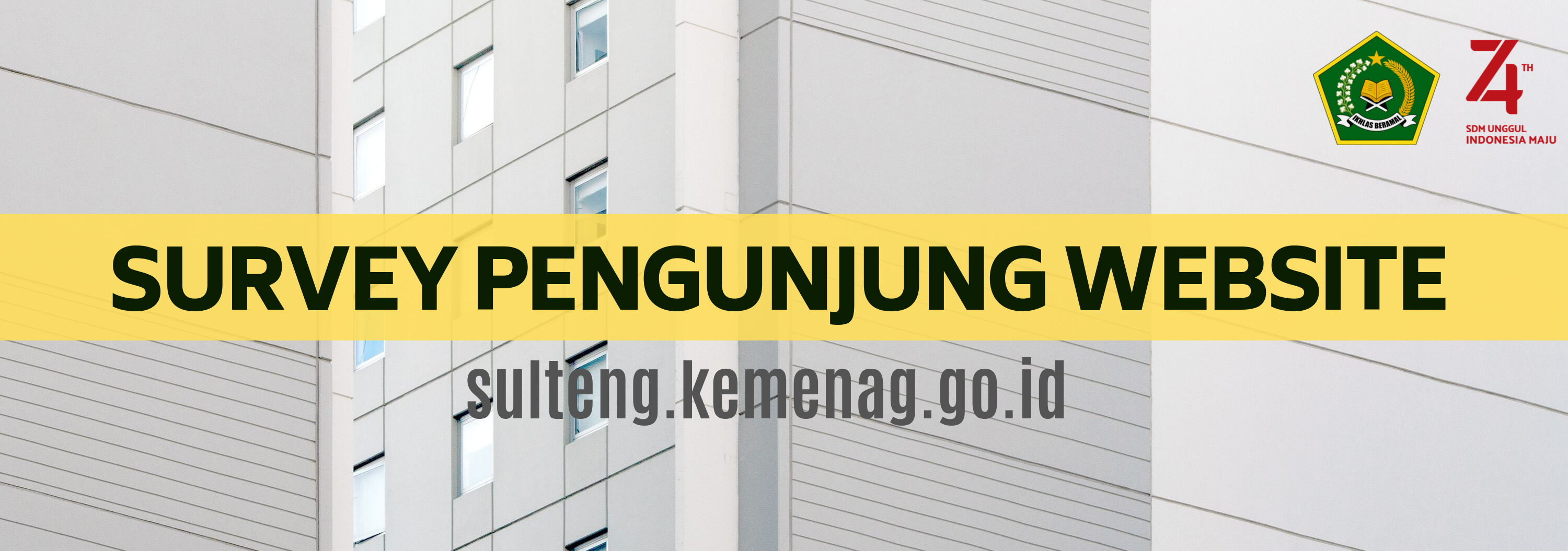 Survey Pengunjung Website